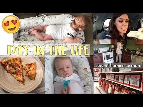 DAY IN THE LIFE OF A SAHM WITH AN INFANT | Morning Routine With A Baby | Ft. Dockatot!