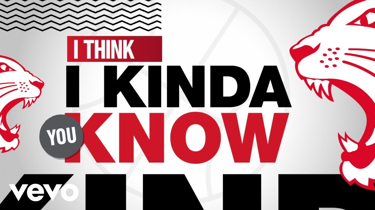 I Think I Kinda, You Know (HSMTMTS | Official Lyric Video | Disney+)