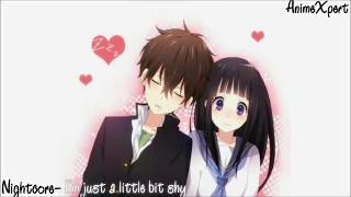 Video Nightcore- I'm Just A Little Bit Shy (Male Version) download MP3, 3GP, MP4, WEBM, AVI, FLV Juni 2018