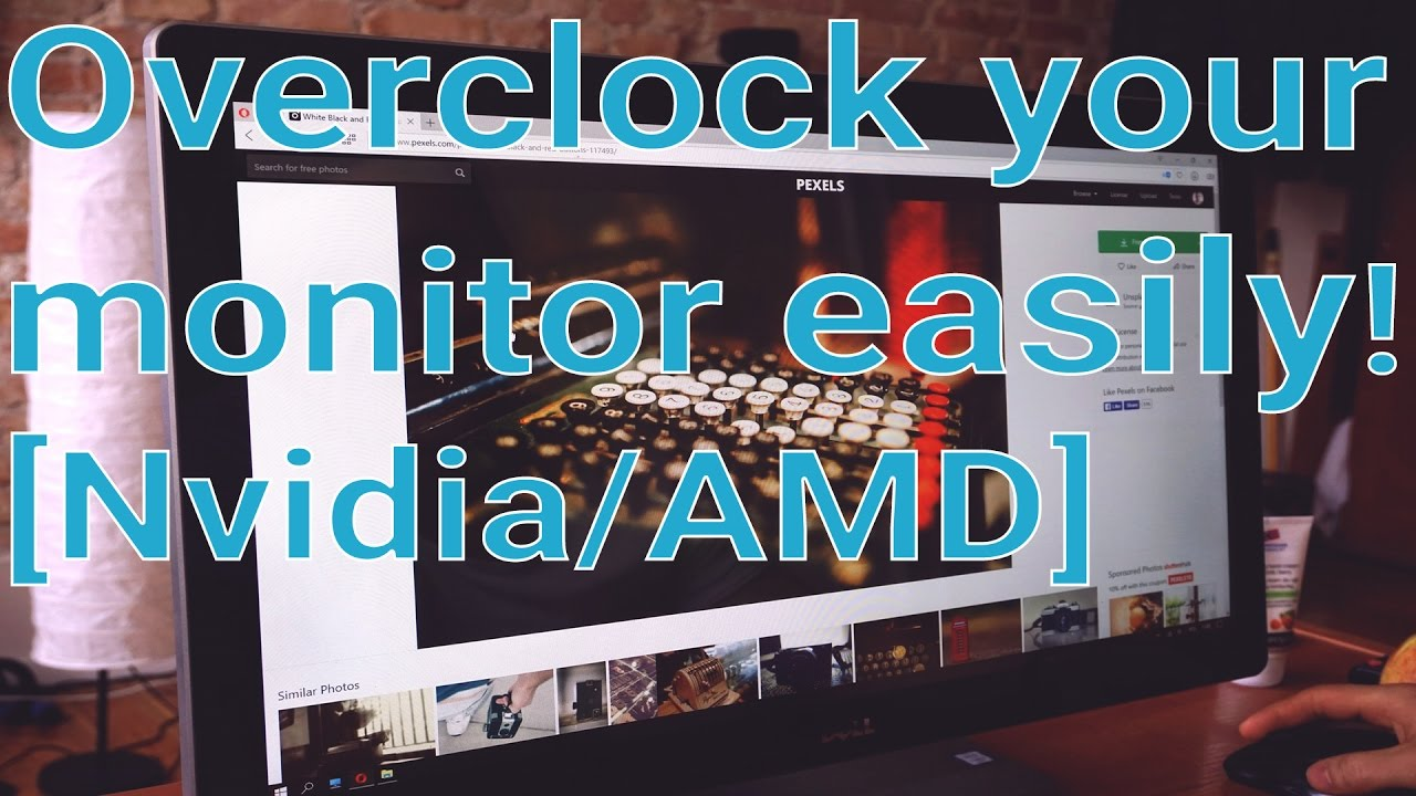 how to overclock your monitor amd