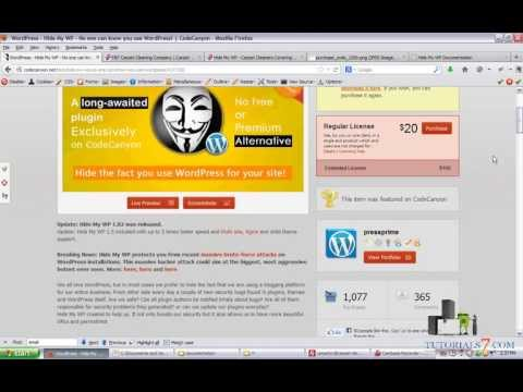Hide My WP Tutorial and Video Review | Secure Your WordPress Website