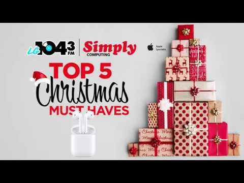 top 5 christmas must haves apple airpods - Christmas Must Haves