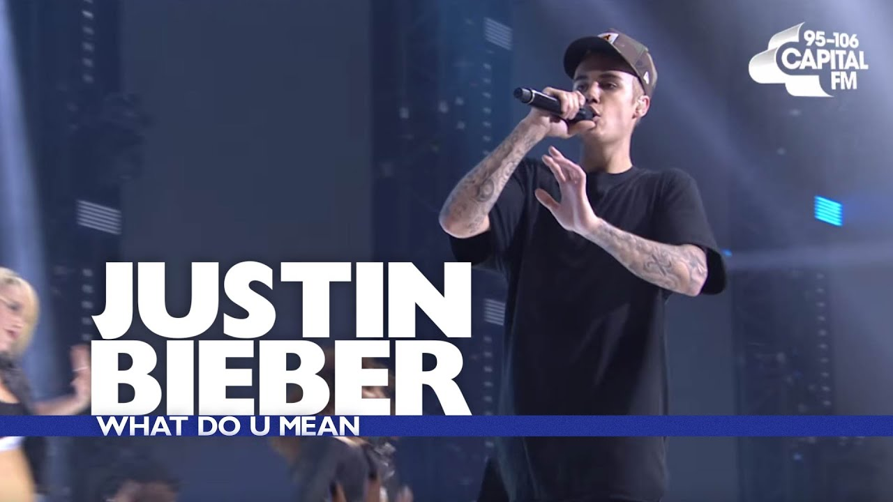 Justin Bieber - 'What Do You Mean?' (Jingle Bell Ball 2015) #1