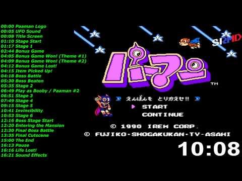 パーマン (ファミコン) 音楽 / Paaman - Enban Wo Torikaese!! [Famicom] Music / Soundtrack