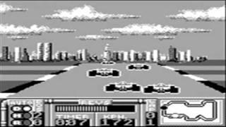 Ferrari Grand Prix Challenge - Game Boy Gameplay