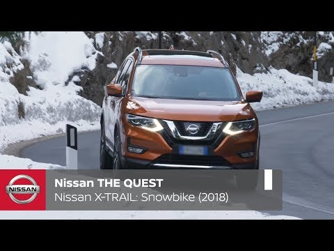 Nissan THE QUEST X-OVER SPORTS â?? Snowbike (2018)