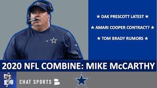Mike McCarthy NFL Combine Interview: Dak Prescott, Amari Cooper Contract, Ezekiel Elliott, Tom Brady