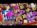 ALICE & THE SCATTERED HEARTS | Bally - Big Win! Slot Machine Bonus