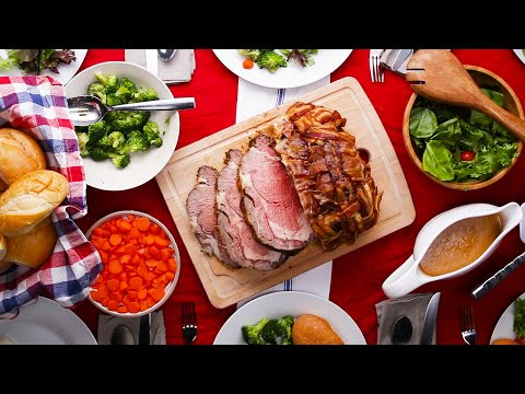 Download Youtube: Bacon-Wrapped Prime Rib