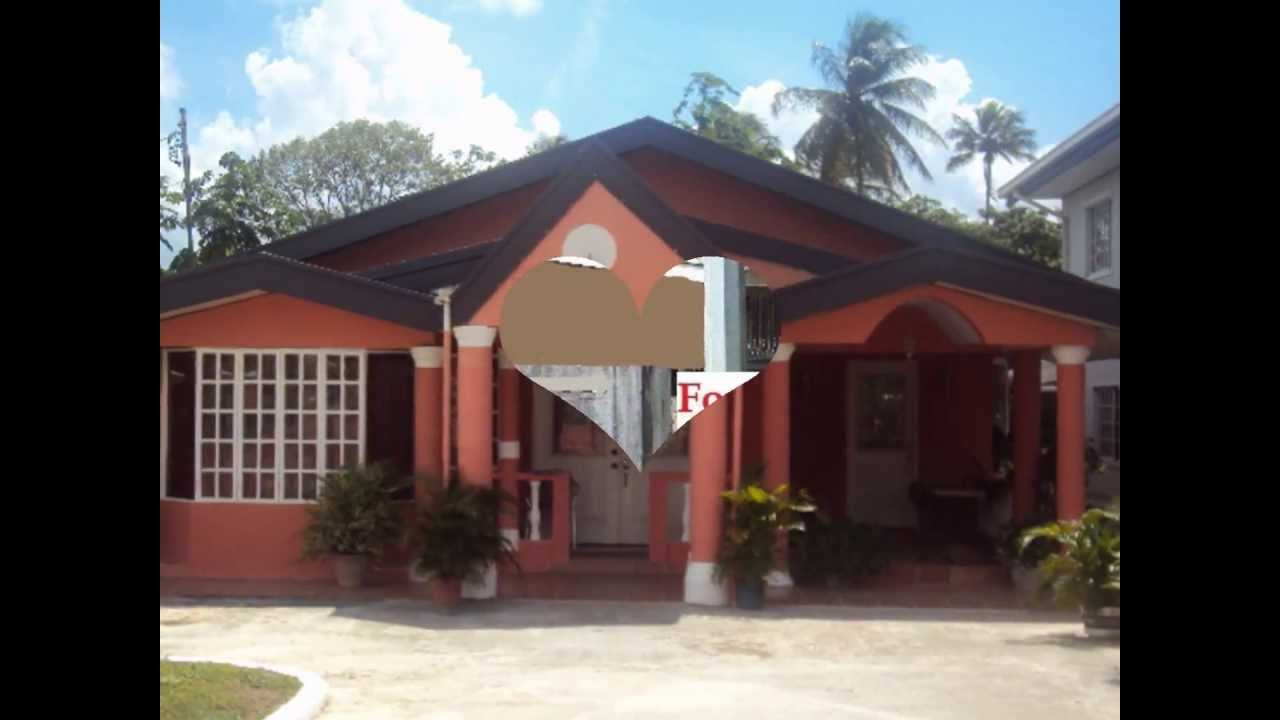 Trinidad and tobago houses youtube for Trinidad houses