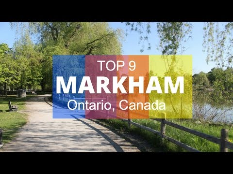 Top 9. Best Tourist Attractions In Markham  - Ontario, Canada