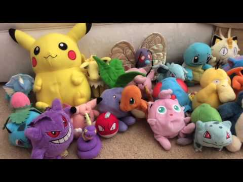 Pokemon Plush Collection UPDATED