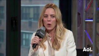"Melissa George On ""Heartbeat""   AOL BUILD"