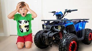 سينيا وسيارته الجديدة ATV!