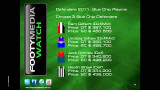 FMW Episode 1 (Part 2) - AFL Dreamteam and Supercoach - Defenders 2011