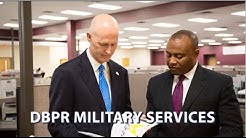 DBPR Military Services