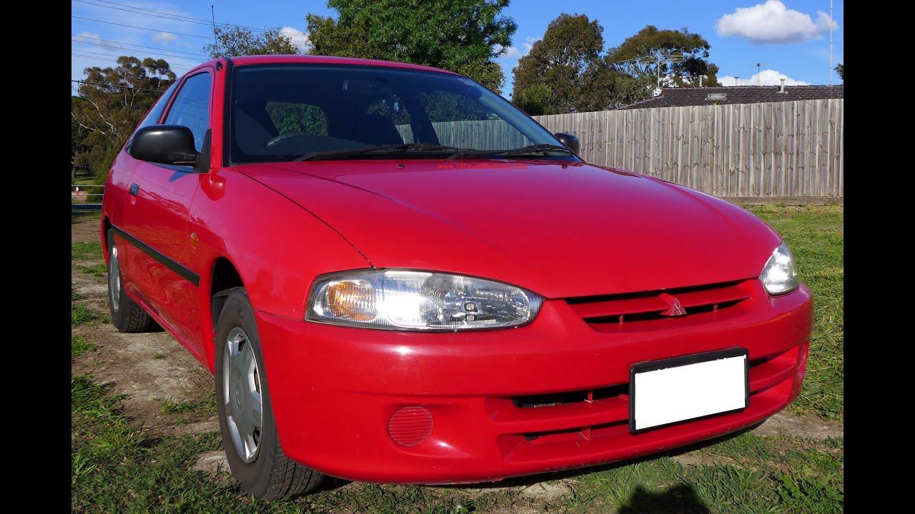 Mitsubishi mirage 3 door hatchback 1999 1 5l manual melbourne australia sold youtube