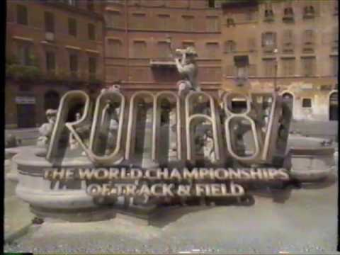 1987 IAAF World Track and Field Championships - Day 8