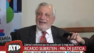 Ricardo Silberstein, min de Justicia - Mega Estafa - ATP 22 10 18