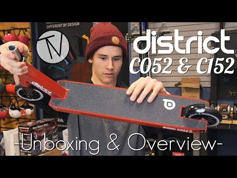 District C052 and C152 Unboxings and Overview │ The Vault Pro Scooters