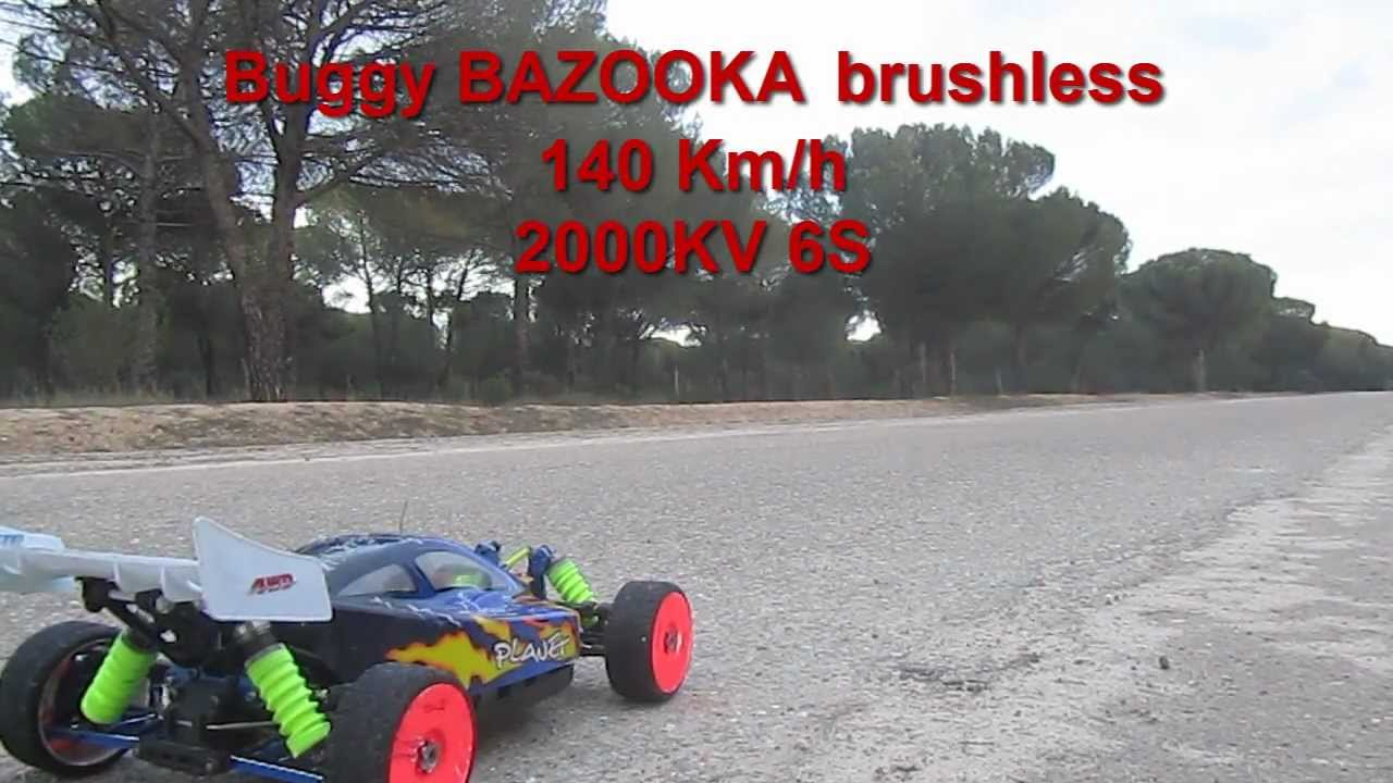 brushless buggy 140 kmh 6s 2000kv 150a youtube. Black Bedroom Furniture Sets. Home Design Ideas