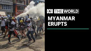 Myanmar violence 'resembling Tiananmen Square massacre' | The World