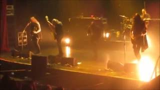 katatonia almost full live concert in chile 31 08 2016