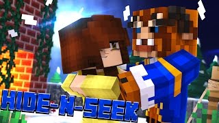 The Perfect Couple Minecraft Beauty and the Beast HIDE N SEEK