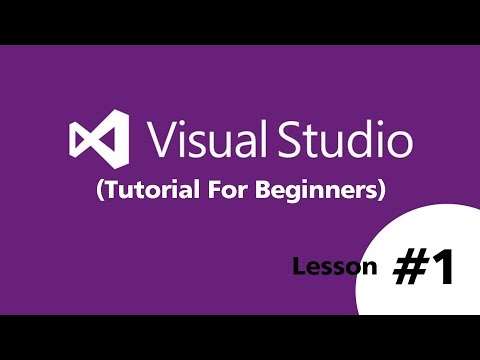Visual Basic.Net 2015 (Beginners) | How to Create New Project and Run - Part 1