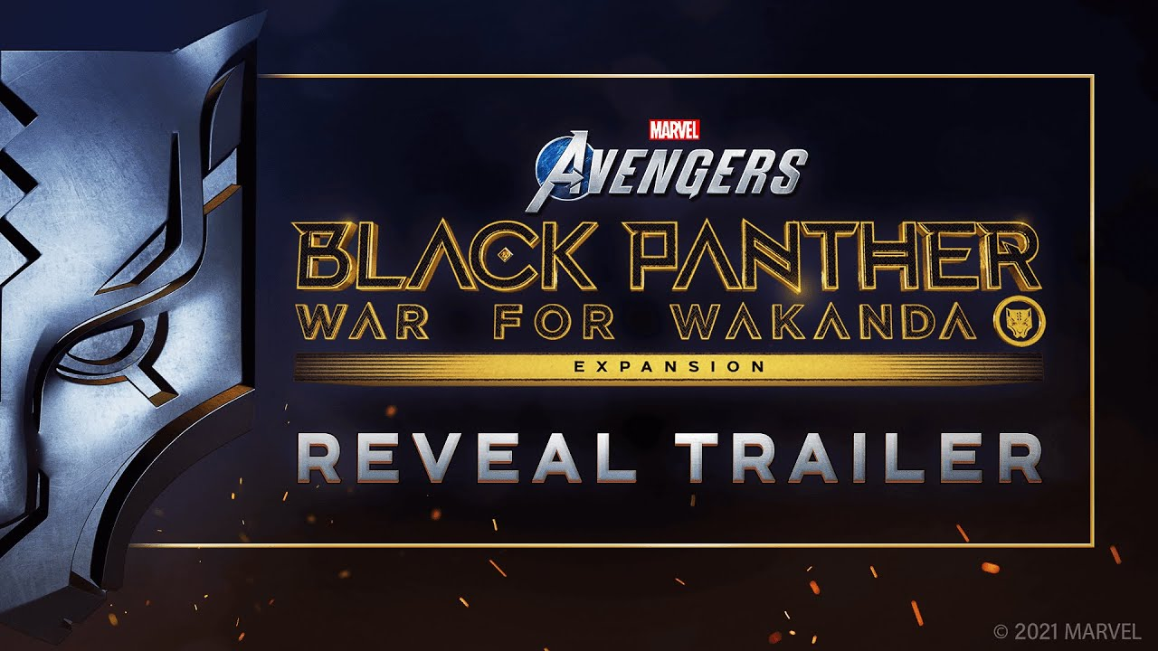 Download Marvel's Avengers – Black Panther Reveal Trailer