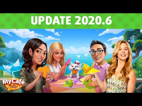 My Cafe: 2020.6 Origami Update Announcement