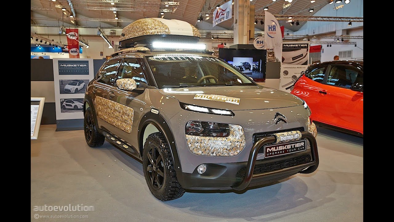 musketier citroen c4 cactus surcross 2014 essen motor show live photos youtube. Black Bedroom Furniture Sets. Home Design Ideas