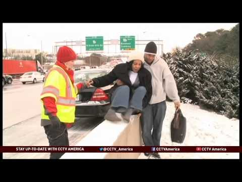 Storm Leaves Thousands Stranded in Southern United States.