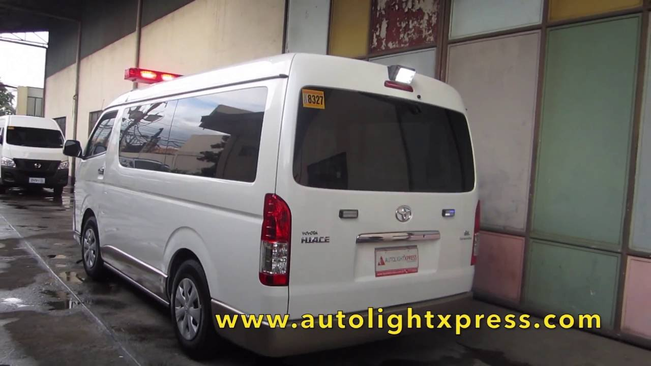 Super Toyota HIACE Grandia Ambulance unit - YouTube HE57