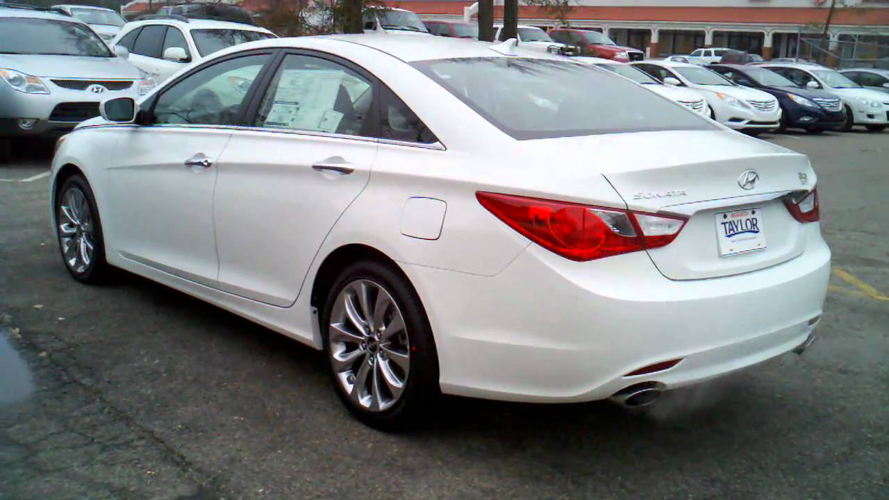 2011 Sonata Se 2 4l Pearl White 3gp Youtube