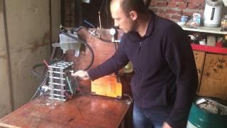 Работающая (старая) технология электролиза воды. Производство водорода и кислорода (Газа Брауна)
