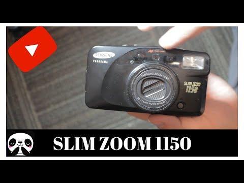 Samsung slim zoom 1150 | film camera unboxing