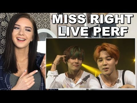 BTS 화樣연華 On Stage - MISS RIGHT Reaction (SO MUCH EXCITEMENT) // ItsGeorginaOkay