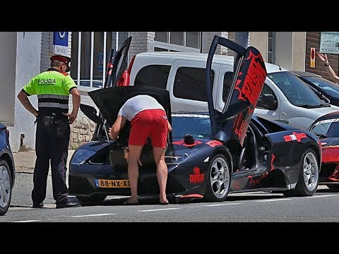 POLICE CAUGHT the LAMBO | DAY 7 of 7 | STREETGASM 2000 | 2017