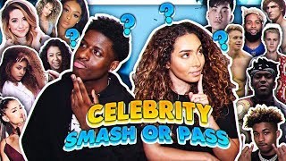 SMASH OR PASS *CELEBRITY & YOUTUBER EDITION*  (KSI, Ricegum, DDG, Amelia Monét and more)