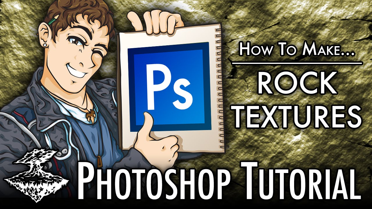 Photoshop creating a rockstone texture youtube photoshop creating a rockstone texture baditri Images