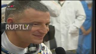 Kazakhstan: Soyuz spacecraft with three ISS crew members launched from Baikonur