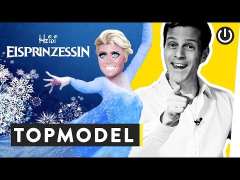 Wie wurde aus Heidi Klum eine Eisprinzessin? | WALULIS