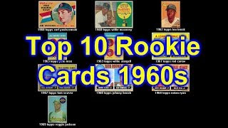 See the Top 10 Baseball Rookie Cards for the 1960s