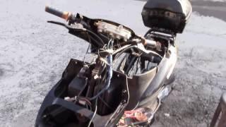 видео Suzuki Sepia ZZ,причина перегорания лампочек. (1)
