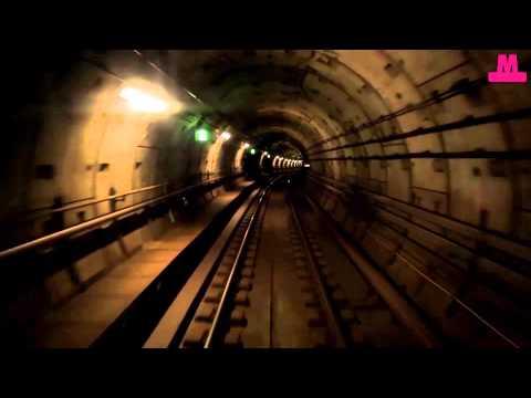 Metrotur fra Vestamager til Vanløse / Metro ride in Copenhagen