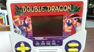 Classic Game Room - DOUBLE DRAGON Tiger handheld game review