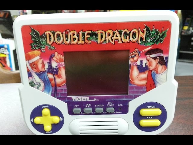 Classic Game Room Double Dragon Tiger Handheld Game Review Youtube