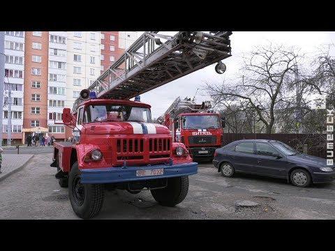 В Витебске «загорелось» студенческое общежитие (31.10. 2019)