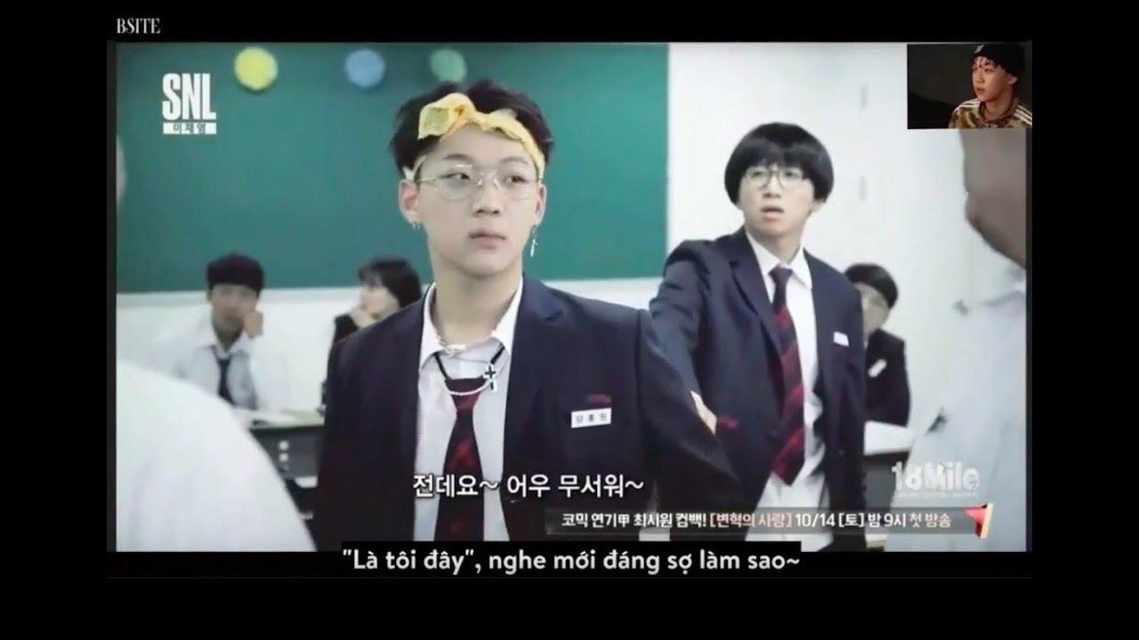 "[Vietsub] Young B (Yang Hongwon) @ SNL 9's parody ""18 mile"" (Ep. 25)"
